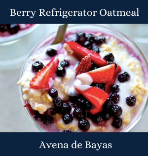 Berry Refrigerator Oatmeal