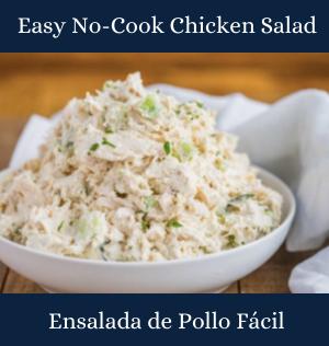 Easy No-Cook Chicken Salad