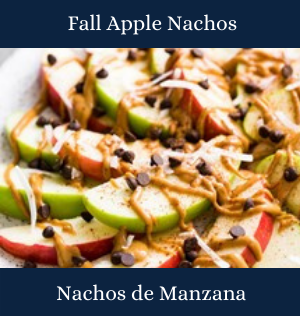 Fall Apple Nachos