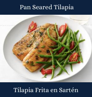Pan Seared Tilapia