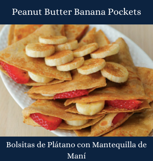 Peanut Butter Banana Pockets